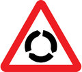 UK Traffic Sign Diagram Number 510 - Roundabout Ahead