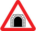 UK Traffic Sign Diagram Number 529.1 - Tunnel Ahead