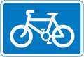 UK Traffic Sign Diagram Number 967 - Cycle Route
