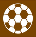 UK Traffic Sign Diagram Number T138 - Football Stadium
