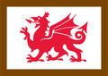 UK Traffic Sign Diagram Number T401 - Wales Tourist Board