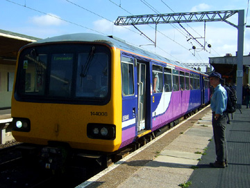 Northern Class 144, No. 144008 Carnforth Station
