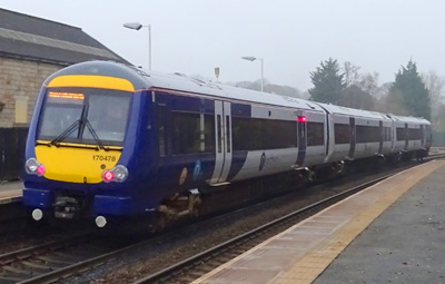 Northern Class 170 No. 170478  Horsforth  Railway Station