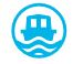 OS25K symbol - Tourist - Boat hire symbol from 2016 (v2)