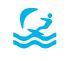 OS25K symbol - Tourist - Water activities on boards