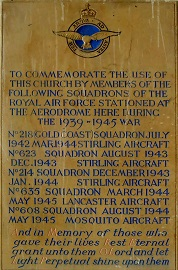 218 Sq memorial plaque