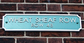 row name sign