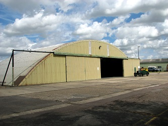 Blister hangar