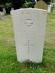 D George (gravestone)