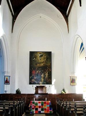 Gt Hospital St Helen chancel arch