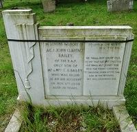 JC Bailey (gravestone)