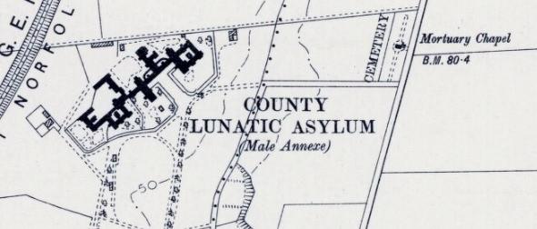Hospital cemetery 1905