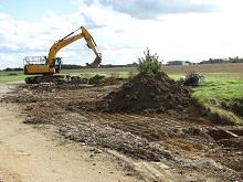 New Road - northern perimeter track