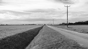 Northern perimeter track