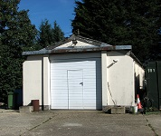 Ambulance garage and Mortuary