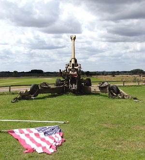 FH70 155mm howitzer field gun